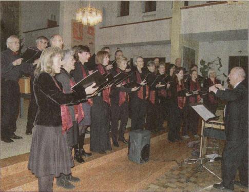 Das Vokal-Ensemble begeisterte mit vielseitigem Repertoire - Foto: su