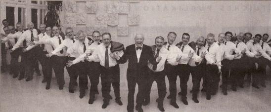 Der Männerchor Küssnacht freut sich, am 17. Mai das Publikum mit bekannten Melodien zu begeistern - Foto zvg